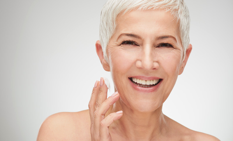 Antiaging with the QMS Advanced Range